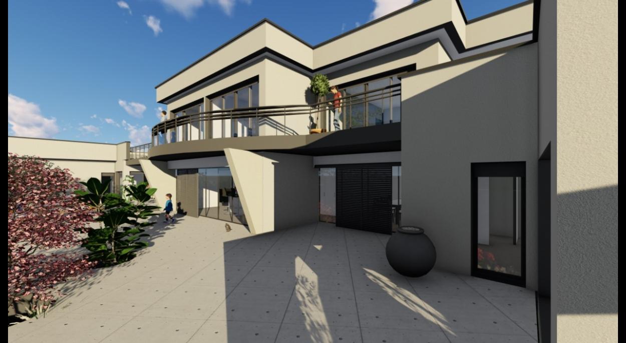 Maison moderne bien équipé