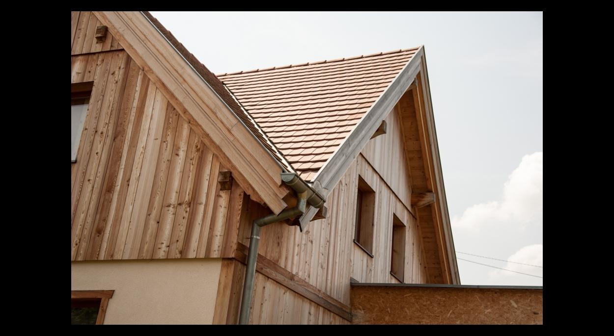 maison ossature bois style traditionnel BBC site classé alsace bas-rhin
