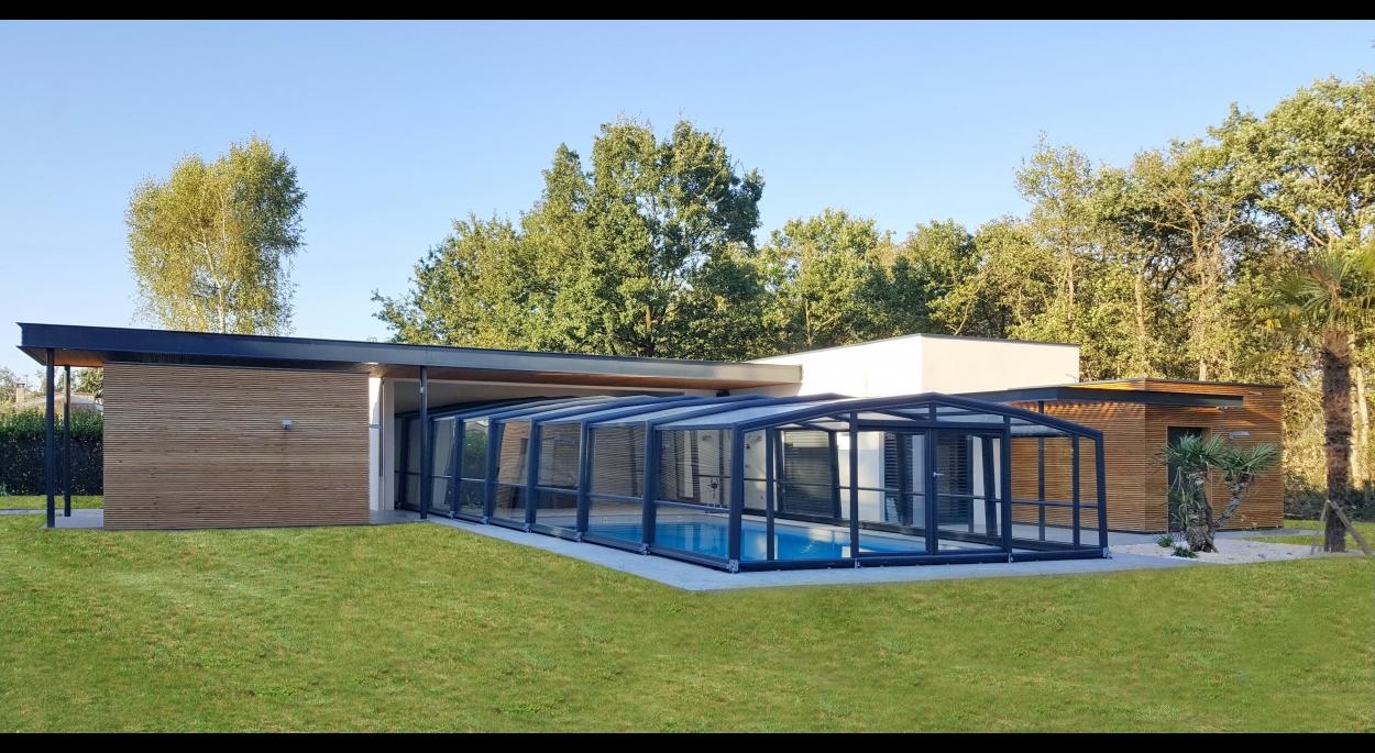 Pool House / Piscine / Espace bien-être F - Vue générale SO