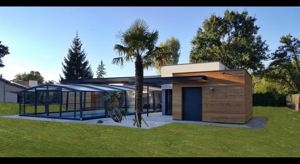 Pool House / Piscine / Espace bien-être F - Vue générale SE
