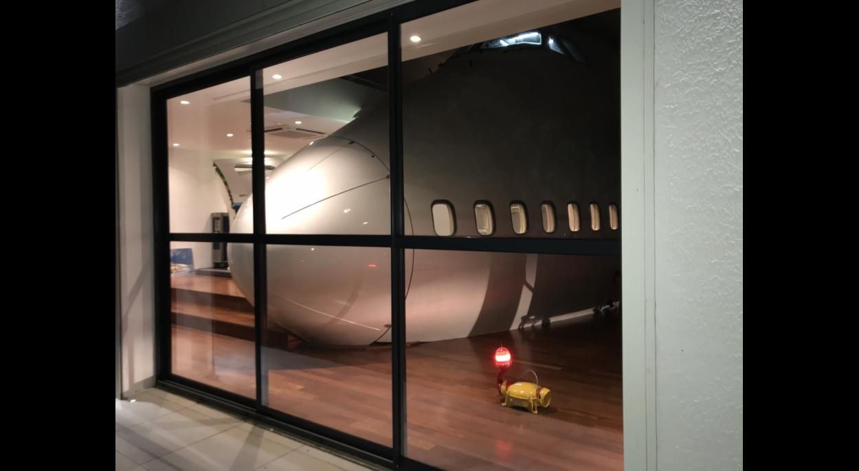 Un 747 à la maison