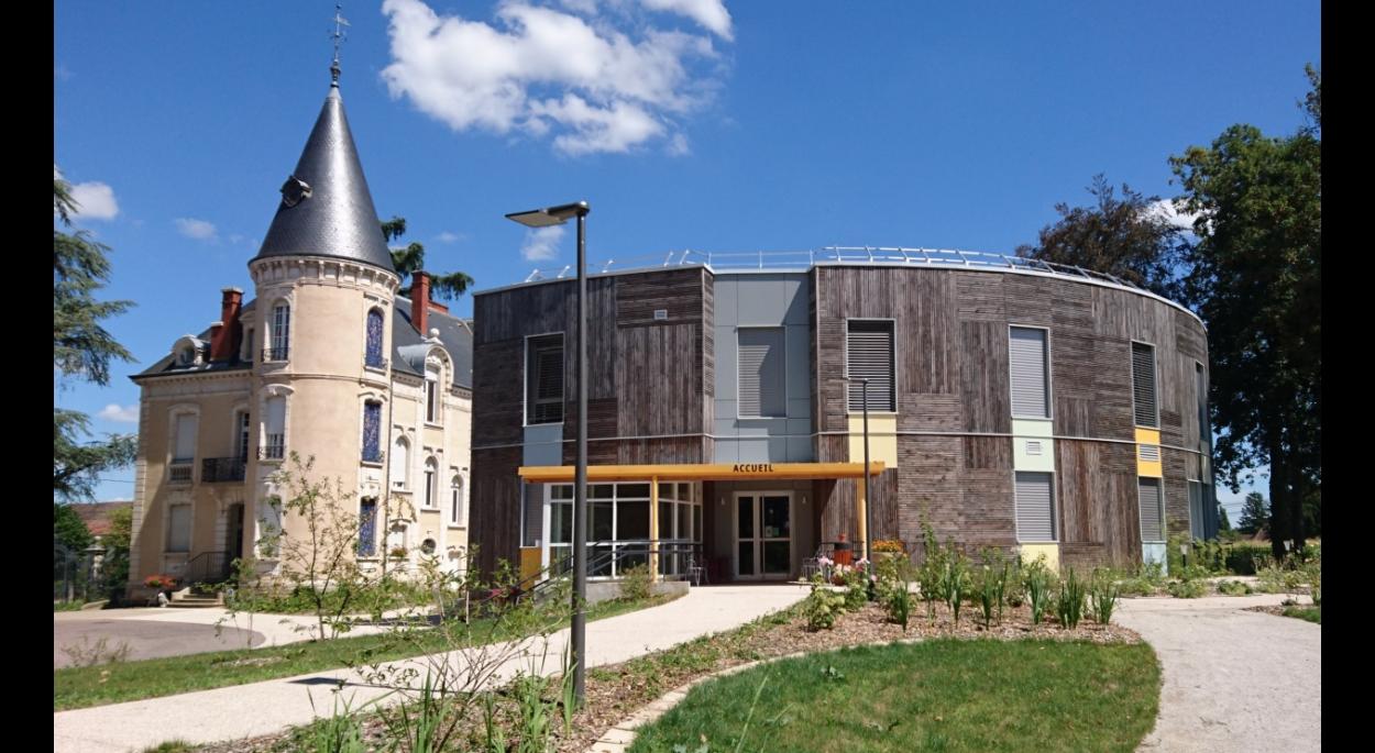 DSA Ehpad Gigny sur Saône Hébergement temporaire personnes âgées - Construction bois