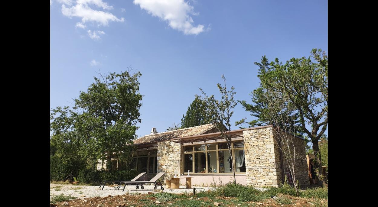 façade projet extension rénovation projet permis de construire chantier Lot 46 tarn et Garonne 82
