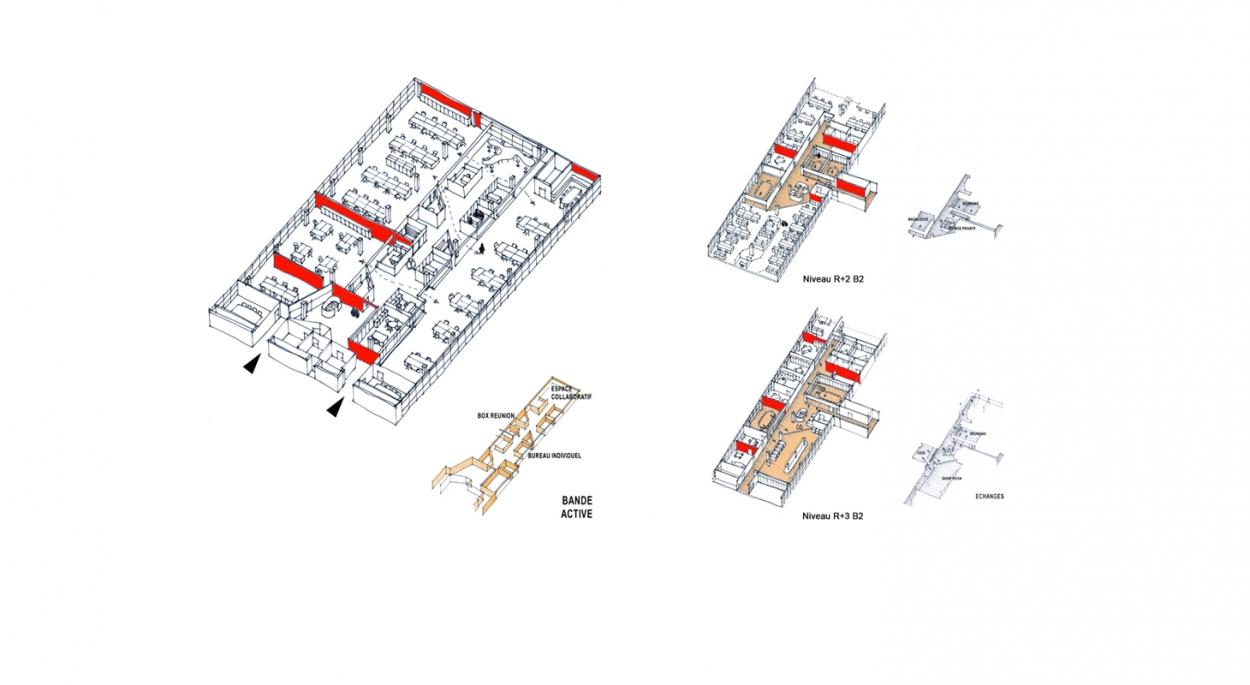 Aménagement de bureaux, show room et espaces détente