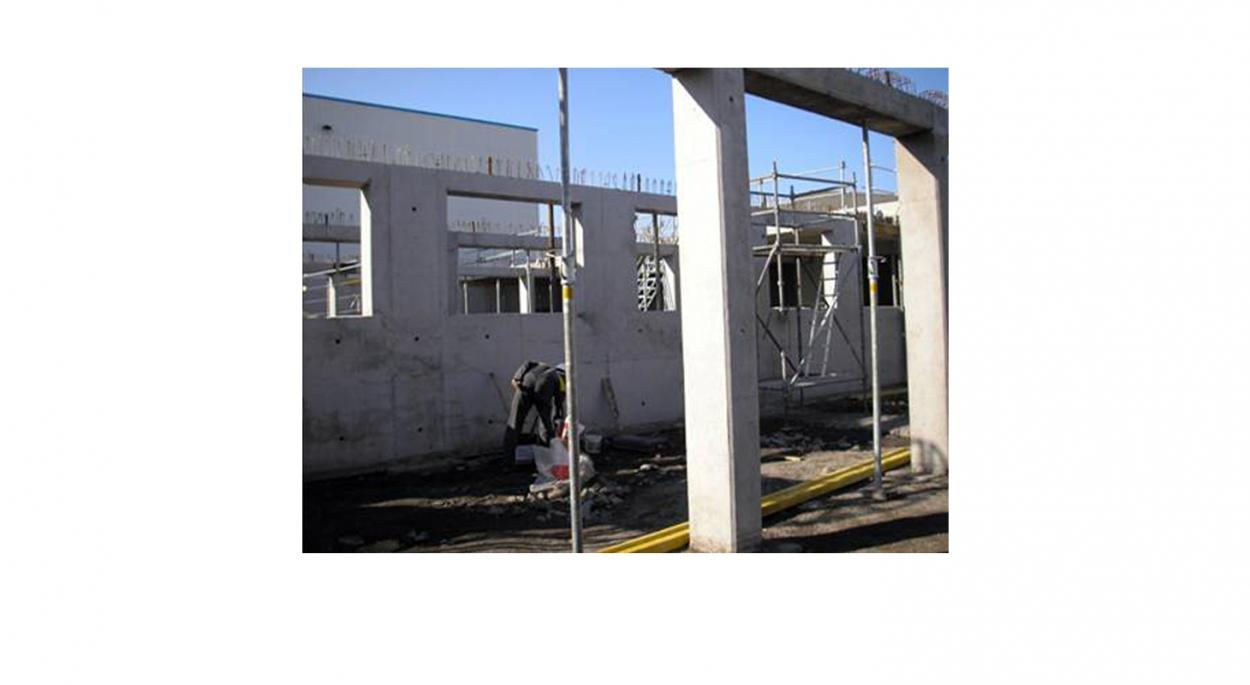 Plateforme logistique, bureaux et parkings - Phase chantier