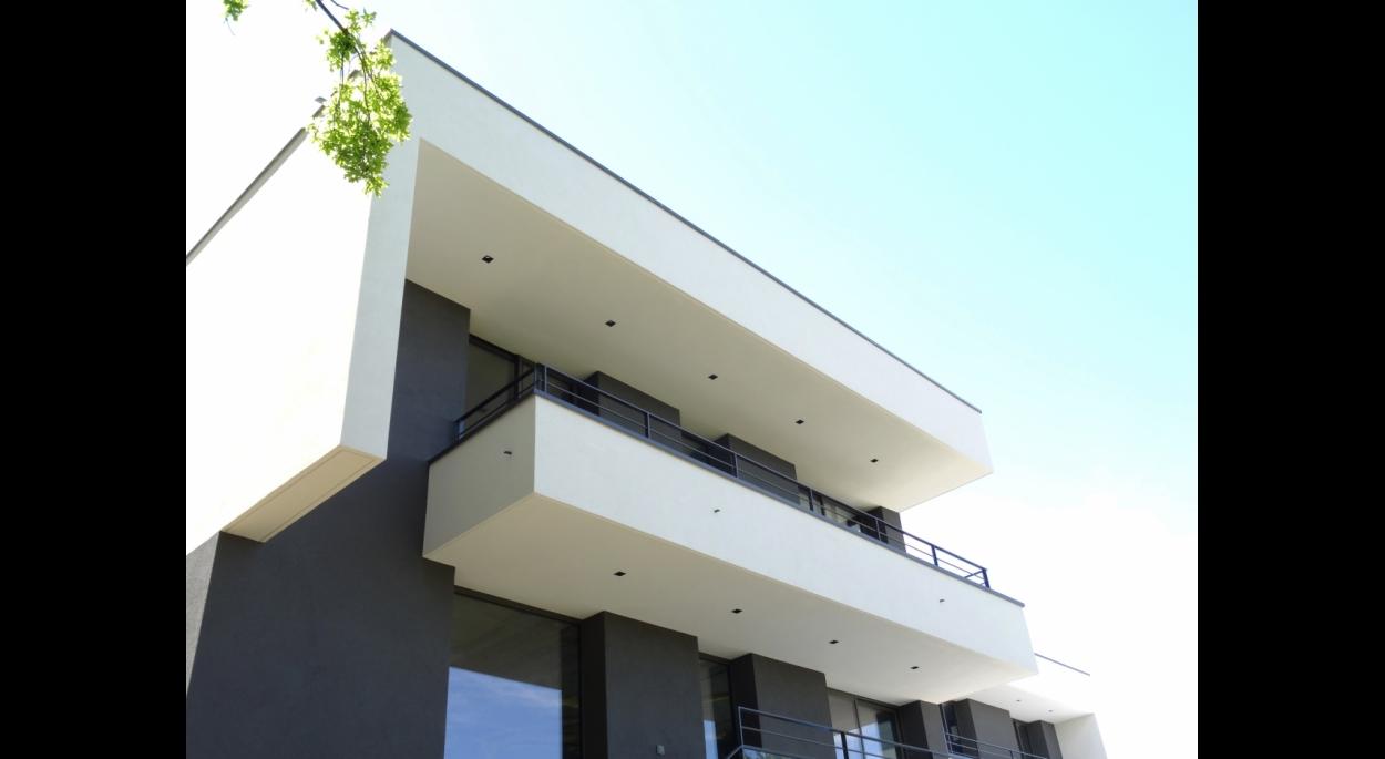 Façade de maison contemporaine