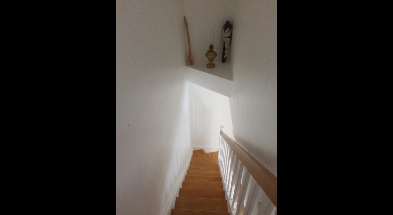 Escalier dans duplex