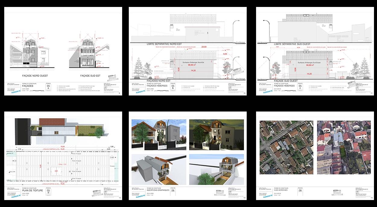 permis de contruire maison individuelle colombes