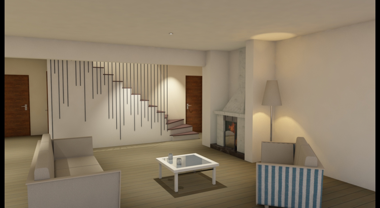 Etude de faisabilité d'un escalier-design