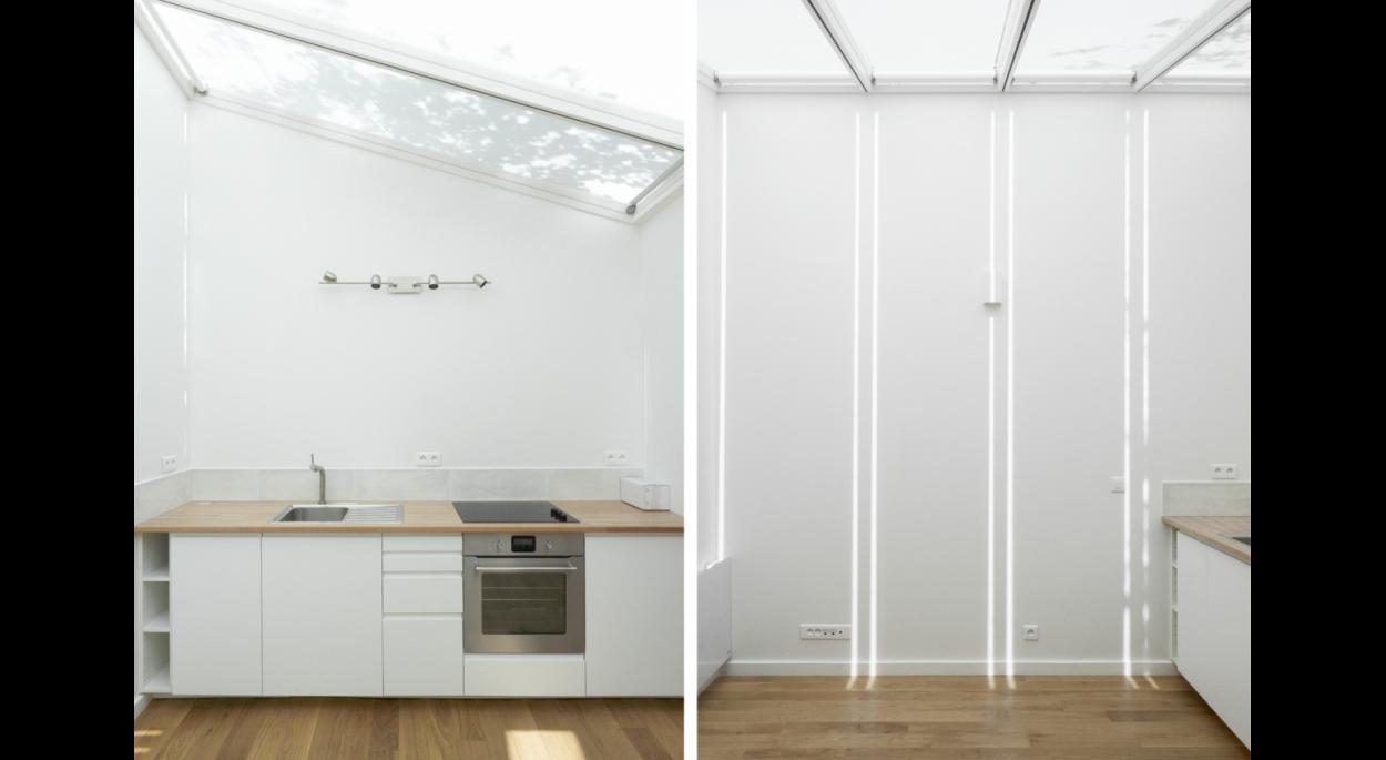 A28 Réhabilitation d'un atelier transformé en studio