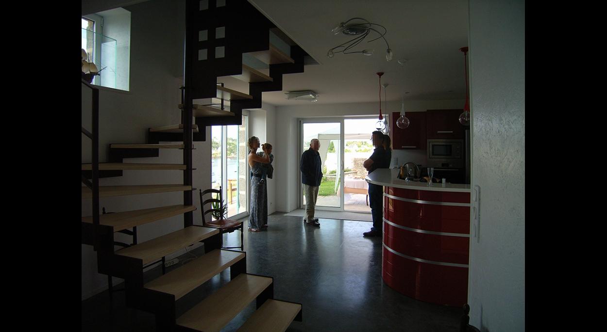 Escalier - cuisine