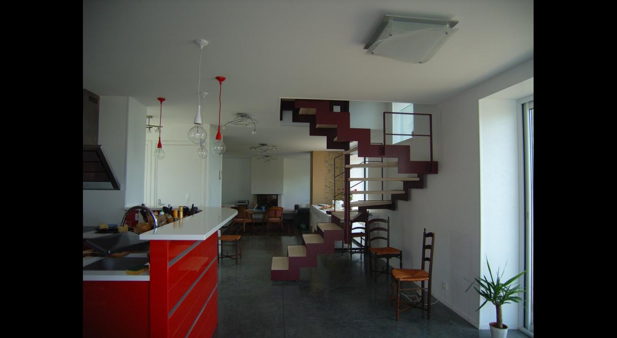 Cuisine - escalier