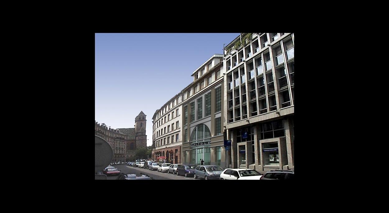 Le Capitole, Rénovation du Cinéma en Bureaux, 2000m2