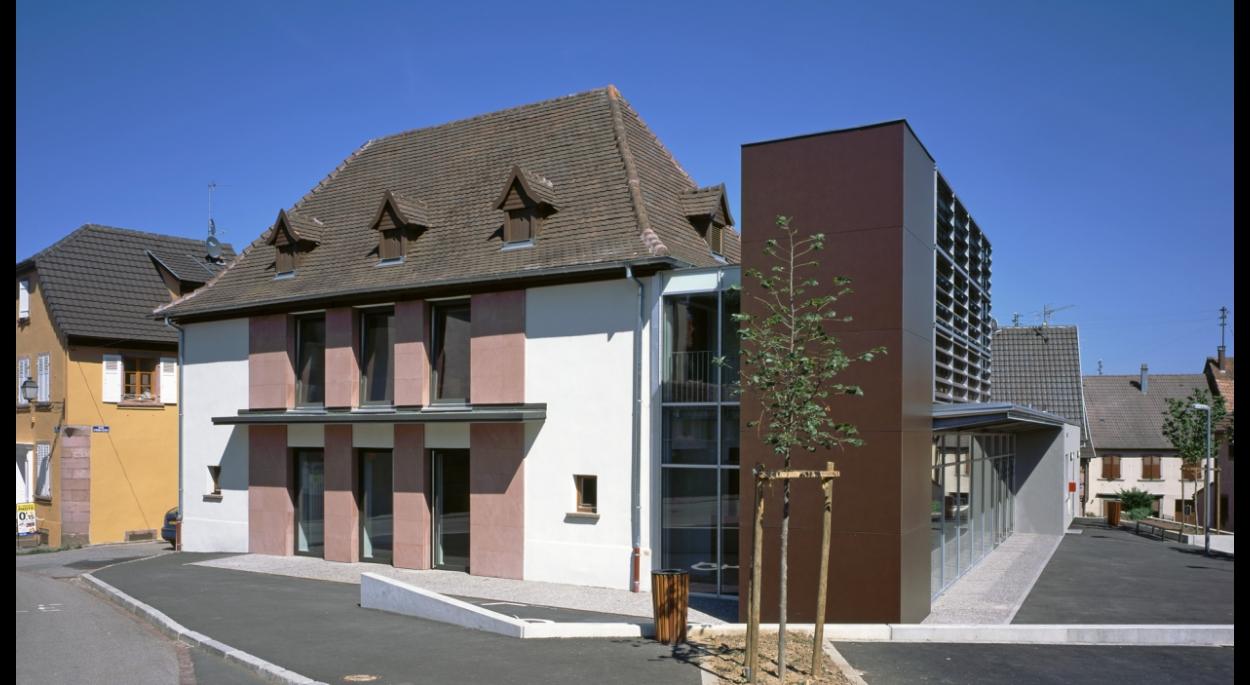 Restructuration et extension de la Salle des Fêtes de Beblenheim