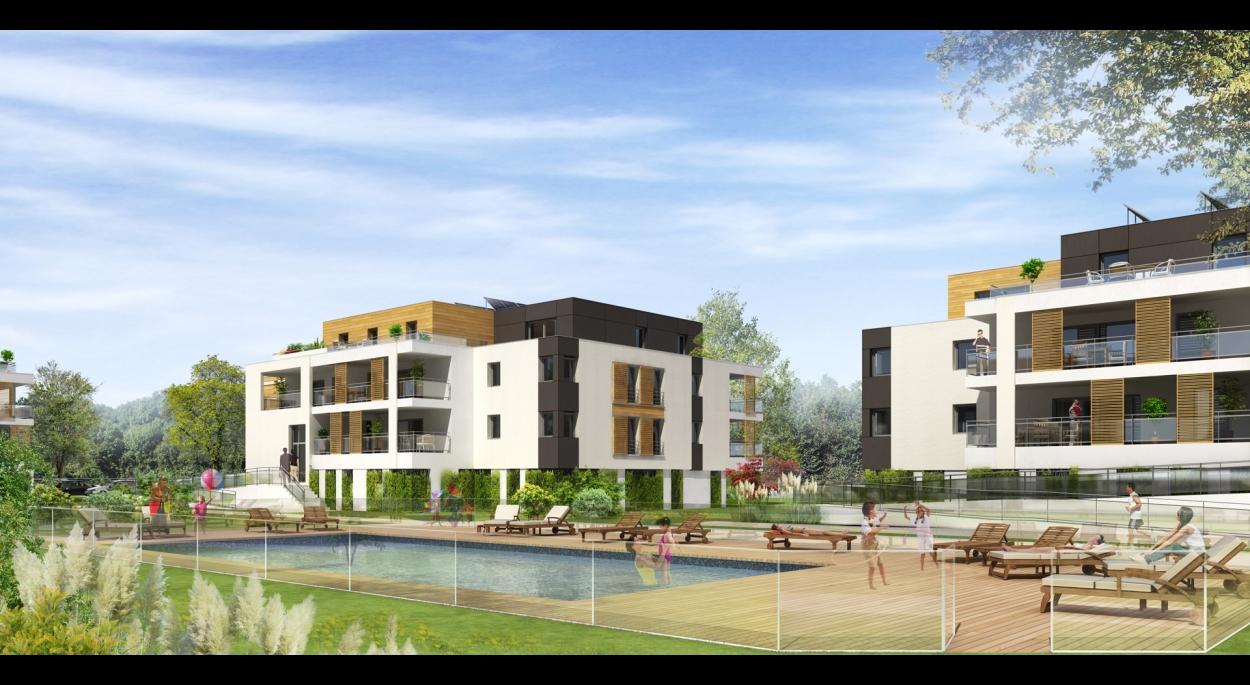 Habitat collectif en accession: «les Villas de la Roberstau» à Strasbourg  - 67000