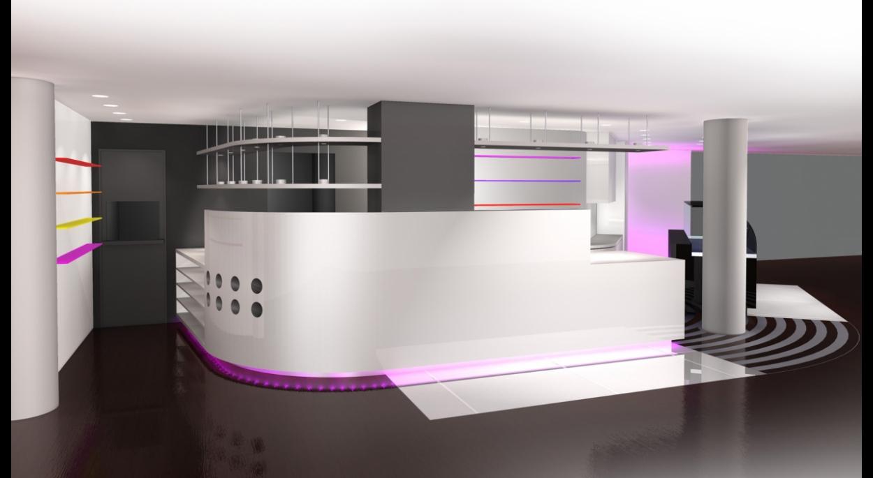 Transformation de la zone de service - Café Mozart à Mulhouse (68)