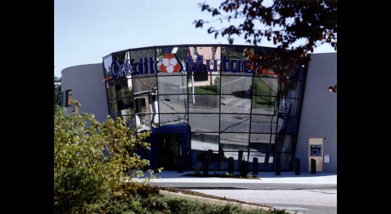 Agence bancaire Crédit Mutuel à OSTWALD (67)