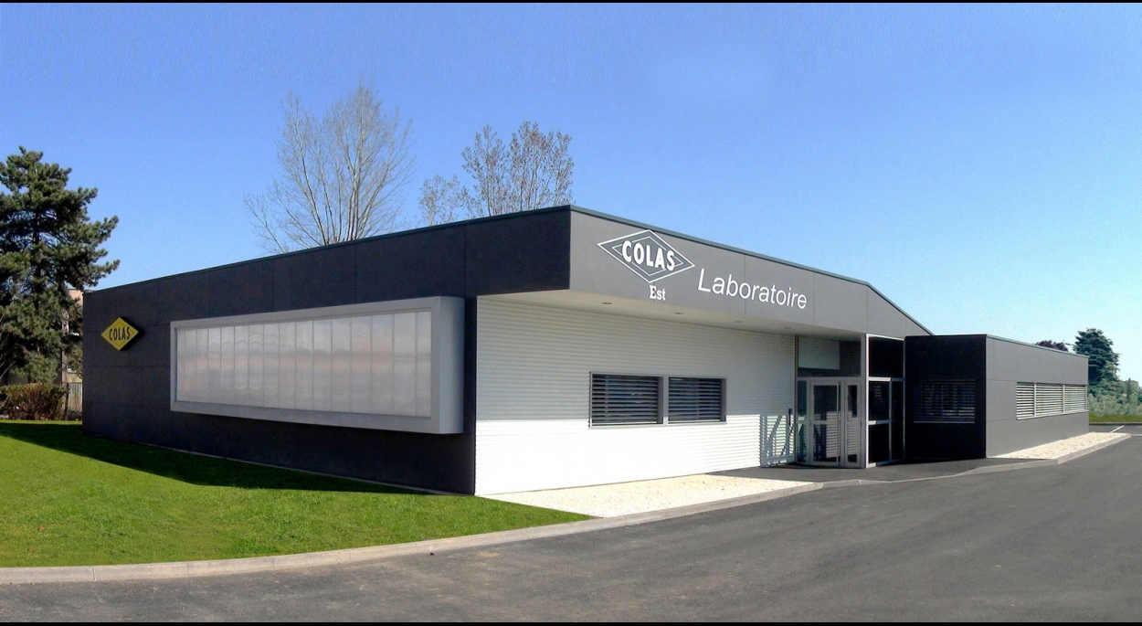 Construction d'un Laboratoire Groupe Colas Est à Colmar