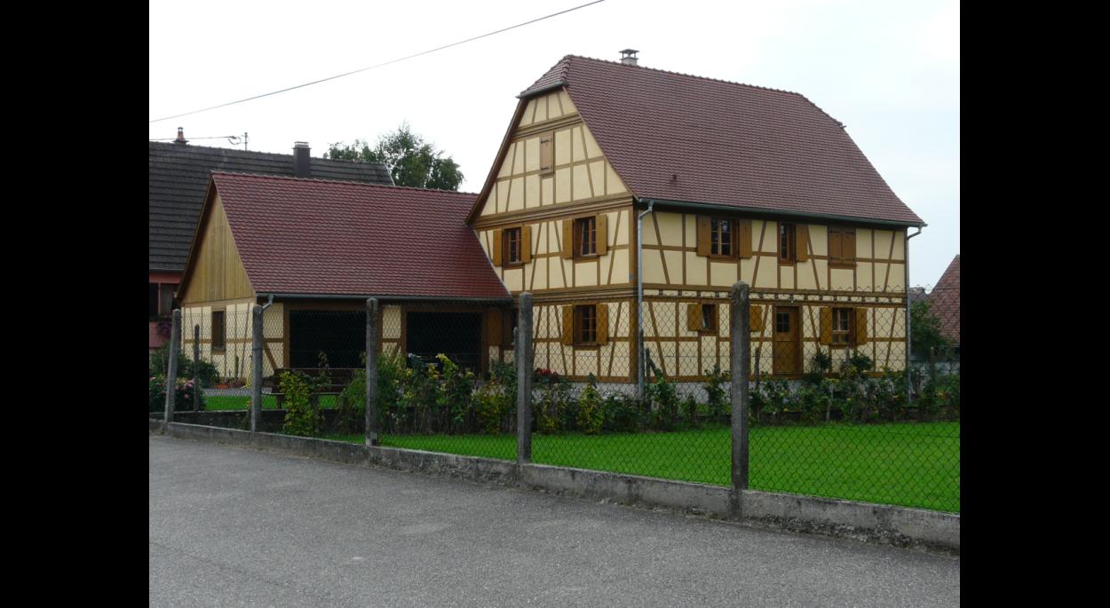 Habitation alsacienne