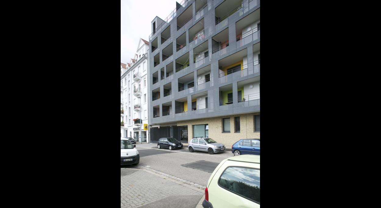 Résidence le Carré d'Art - Construction de 71 logements à Strasbourg