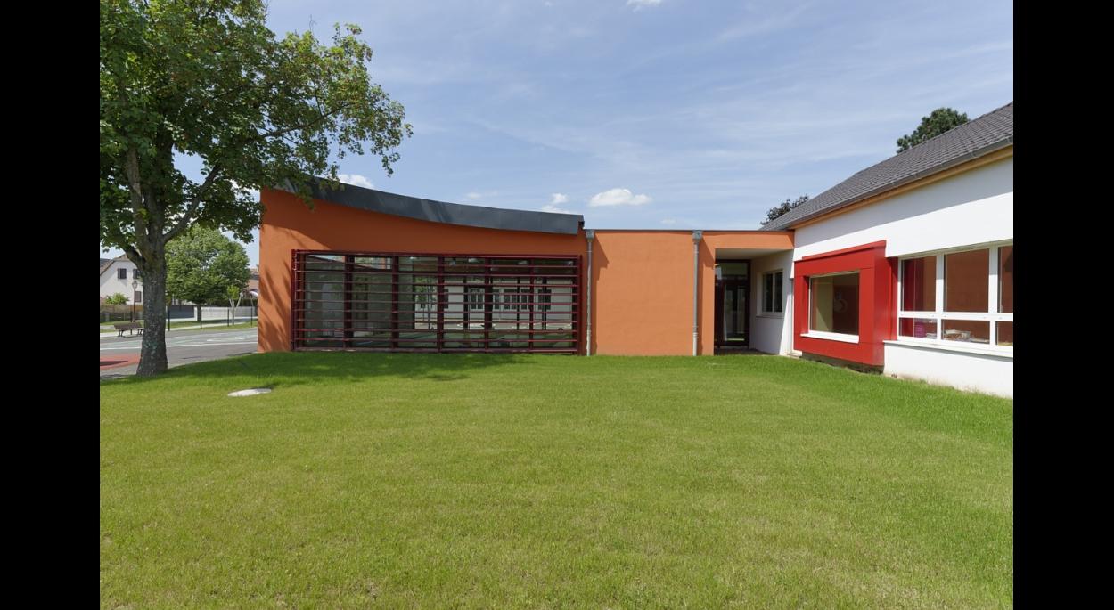 Restructuration et extension de l'école d'Holtzheim
