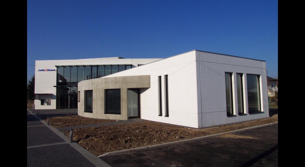 Création du siège du Crédit Mutuel de Reiningue et environs - REININGUE (68)