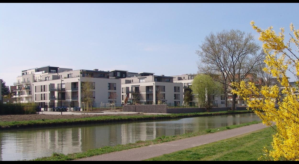 Construction de logements à Hoenheim