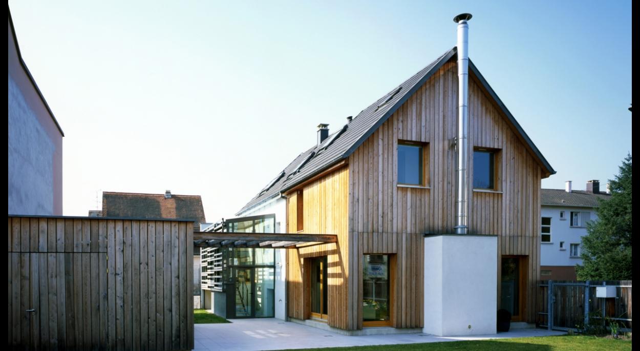 Extension et restructuration d'une maison à Colmar