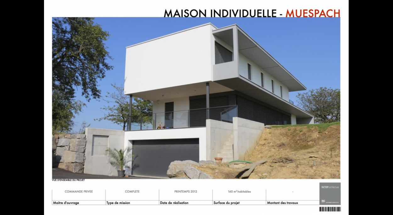 Maison individuelle à Muespach