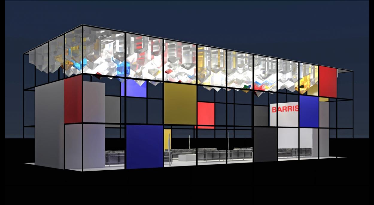 Stand Société BARRISOL - salon BATIMAT 2011