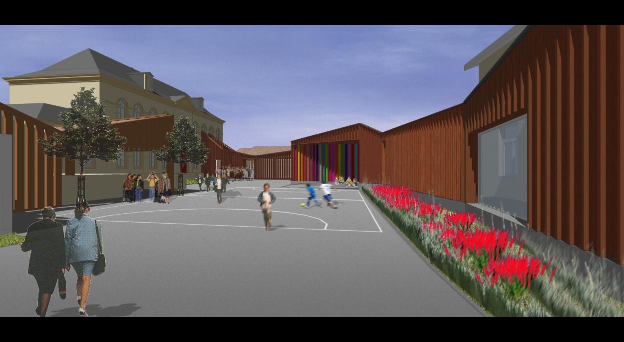 Ecole primaire - Périscolaire -Mairie - ANCY-SUR-MOSELLE (57)