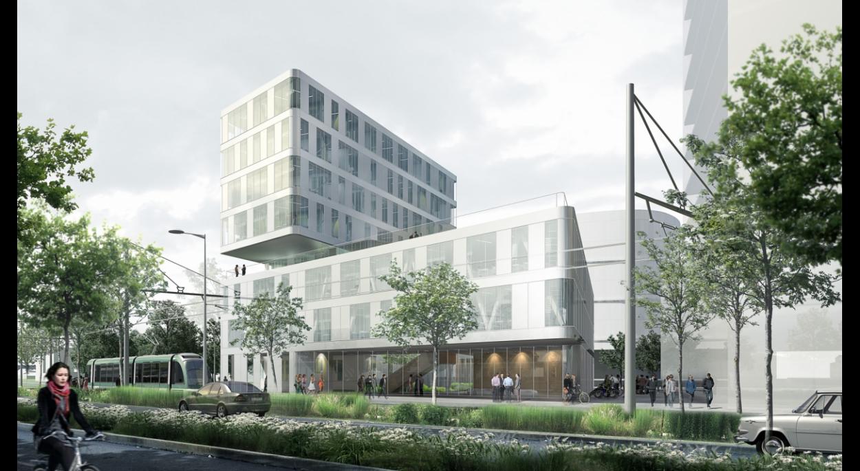 Construction du nouveau site pour l'INET et le CNFPT à Strasbourg