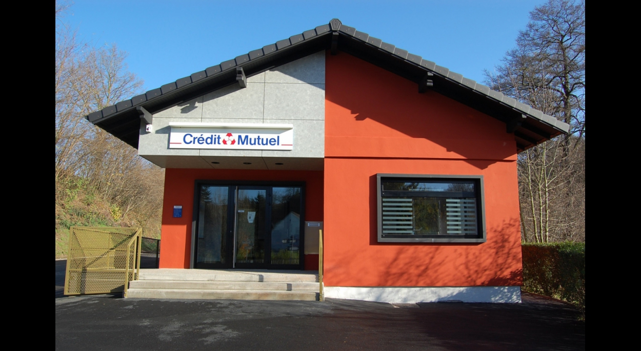 Rénovation du crédit mutuel. Hangviller. 2008