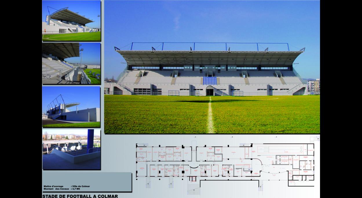 STADE DE FOOTBALL DE COLMAR