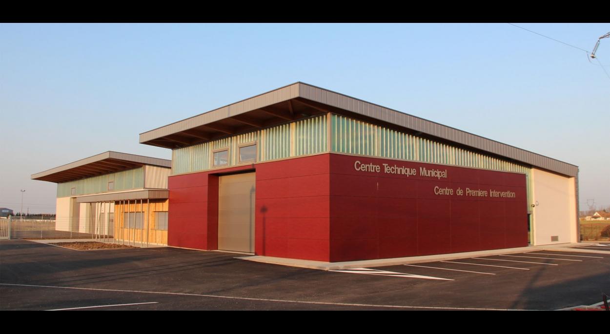 Construction d'un Centre technique Municipal et d'un CPI à Sainte Croix en Plaine