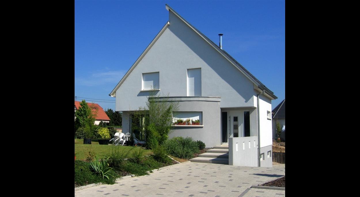 Construction d'une maison individuelle à ECKBOLSHEIM (67)