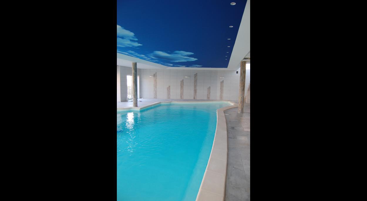 Création d'une piscine couverte/spa pour un particulier. 2011-2012
