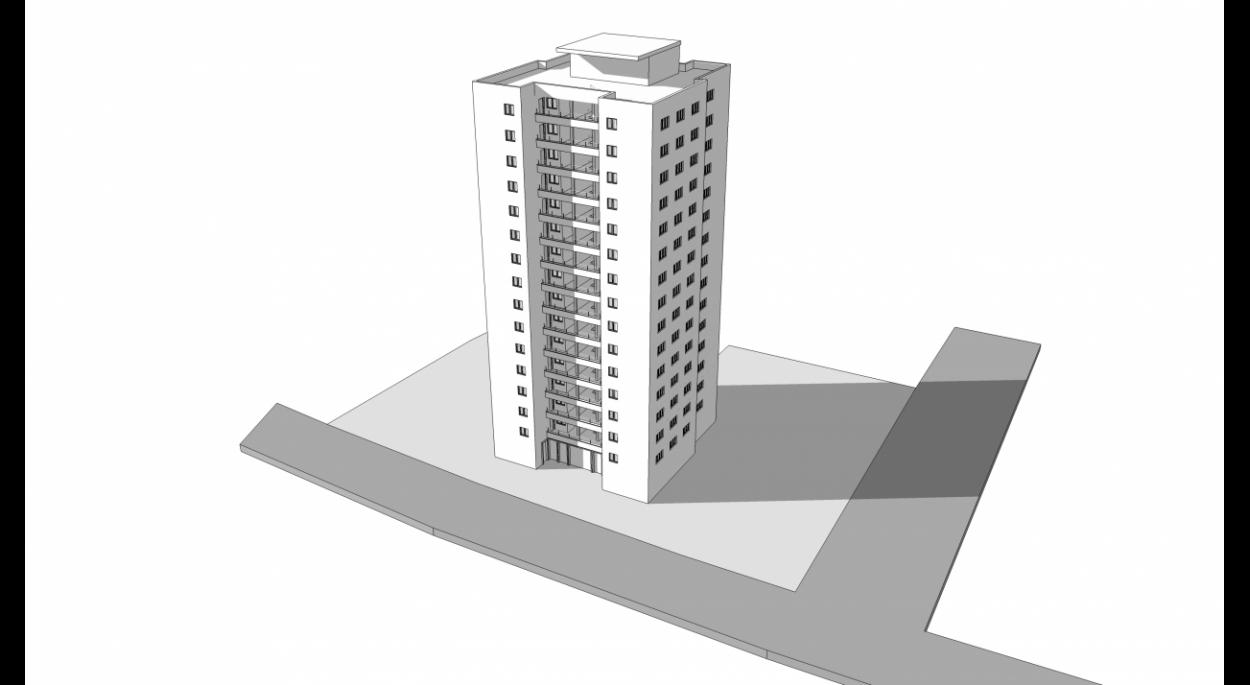 LTM - Rénovation thermique d'une tour d'habitation de 45 logements