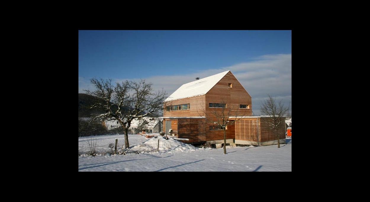 maison passive à Oltingue (68)