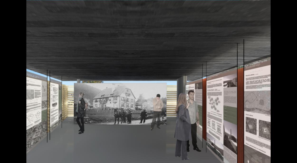 Construction d'un musée à Mittlach