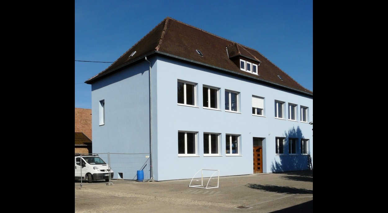 extension rénovation d'une école