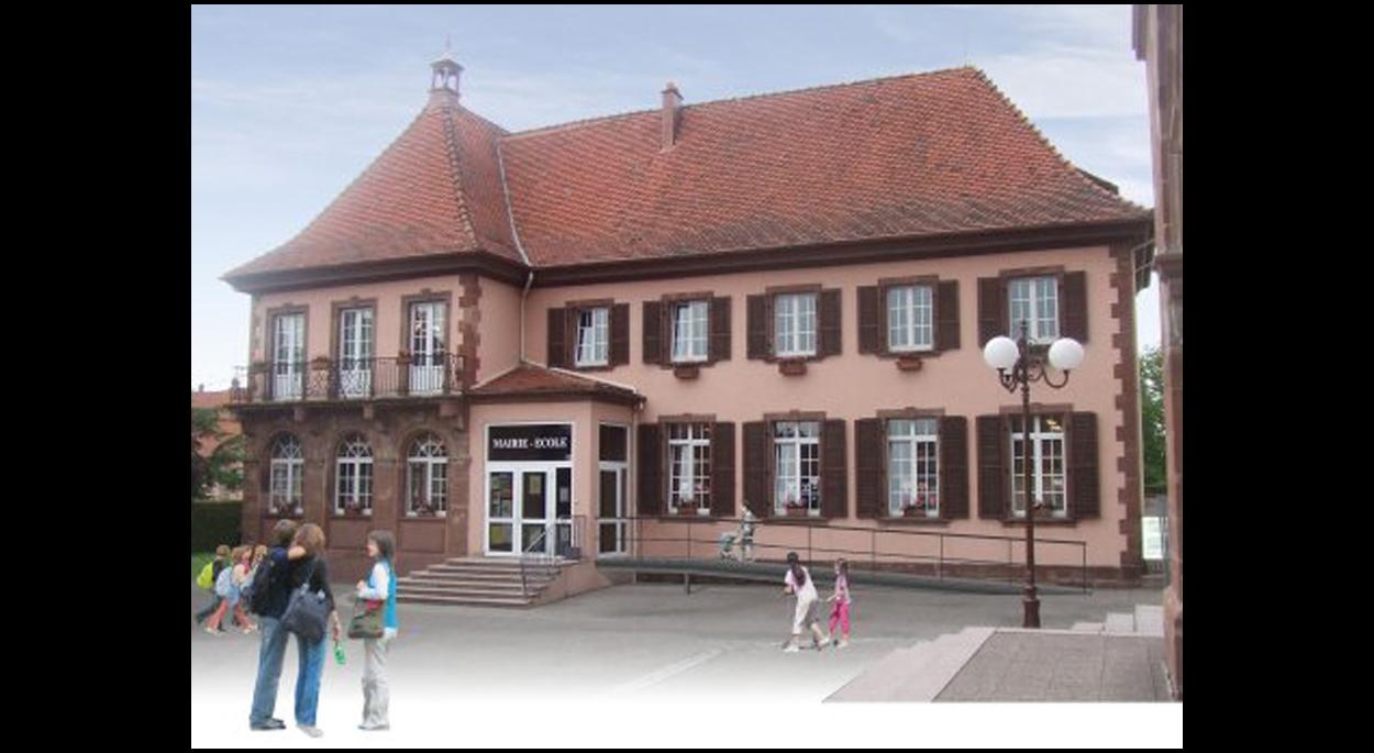 Mise en accessibilité sur 4 niveaux et réhabilitation de la mairie-école de SCHWEIGHOUSE