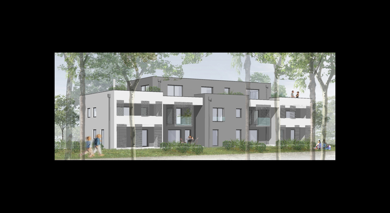 Collectif de 28 logements de 1860 m²