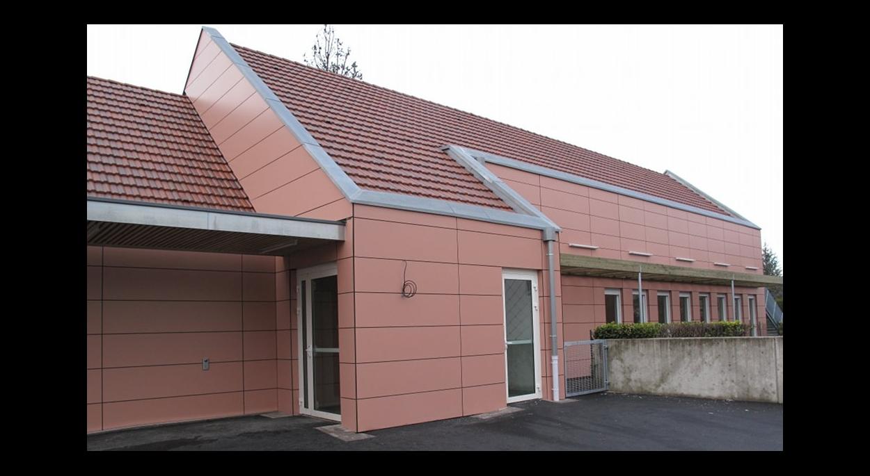 Périscolaire de Brunstatt en ossature bois de 312 m²