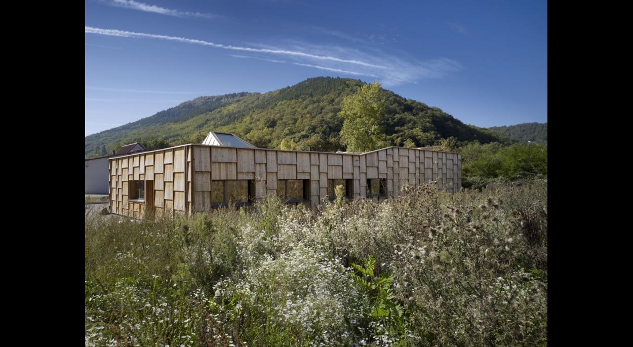 Construction des bureaux et d'un local de stockage pour la société «Bionat» à Chatenois