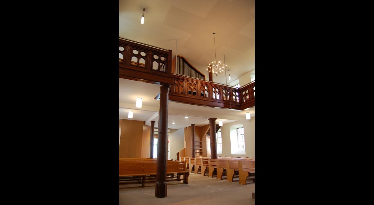 Rénovation de l'église de PUBERG. 2012-2013