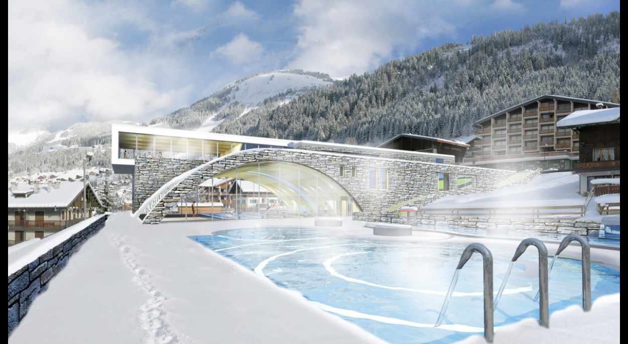 Centre Aquatique à Chatel (74)