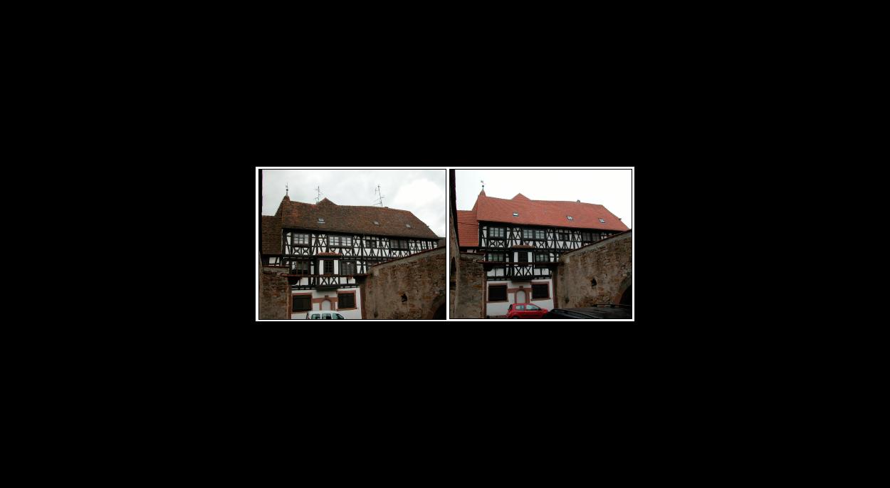 Restauraration de la couverture d'une maison classée au titre des monuments historiques