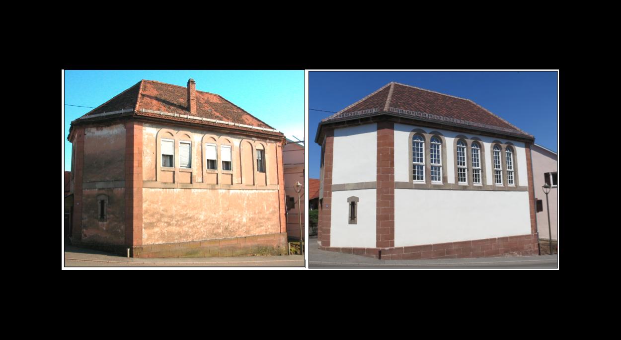 Restauration extérieure de la synagogue de Weiterswiller