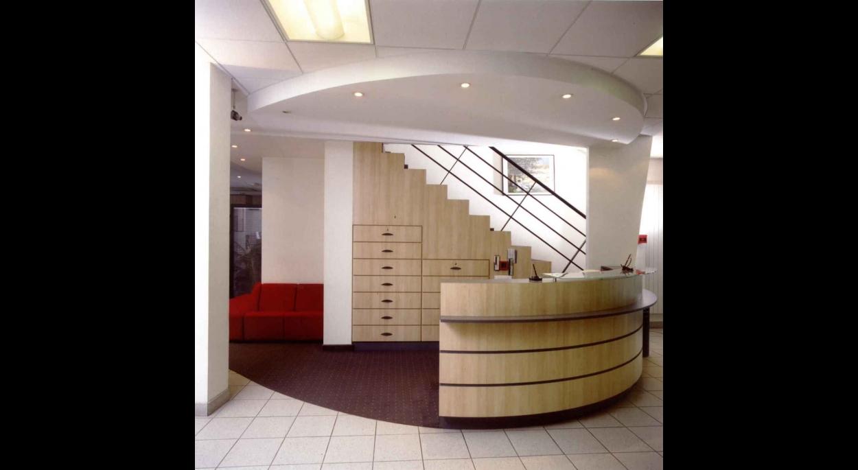 Aménagement de l'Agence Bancaire de la Caisse d'Epargne à ALTKIRCH (67)